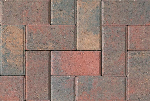 Autumn Red Block Paving Stoke on Trent