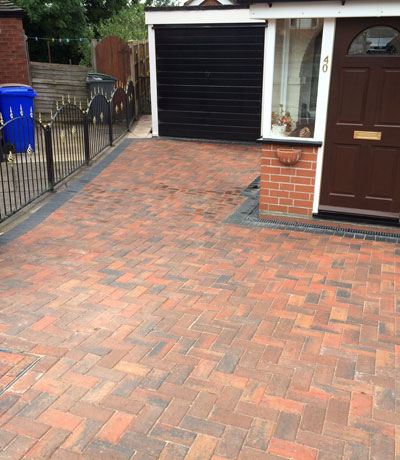 Block Paved Driveways Nantwich