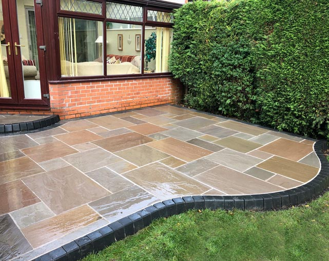 Indian Stone Paving Nantwich Cheshire