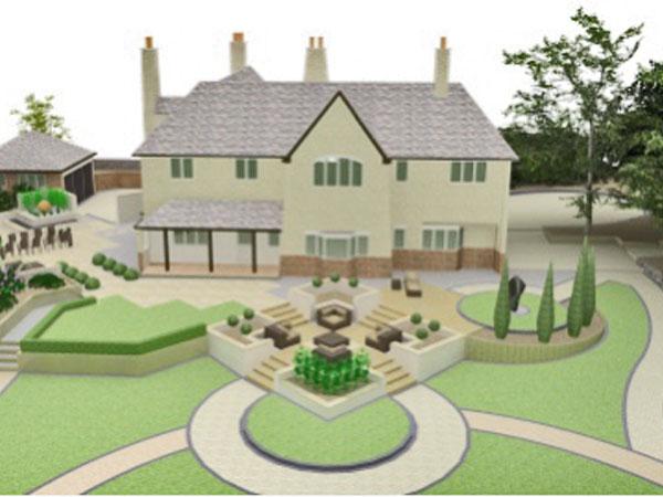 3D Garden Design Alderley Edge