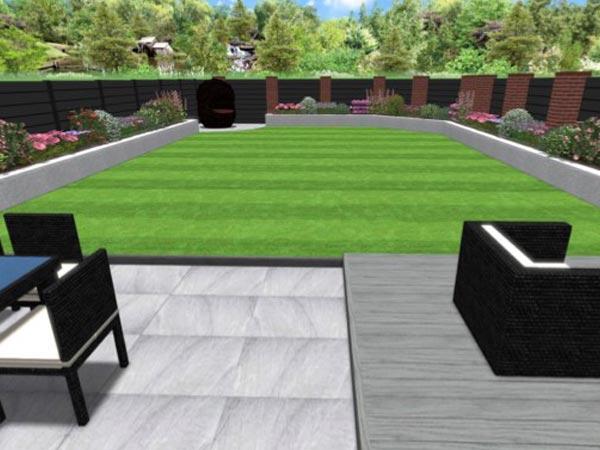 Garden Design in Stafford