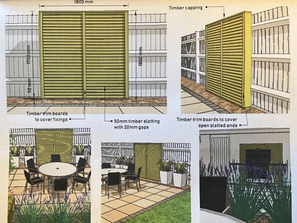 Garden Design in Sandbach
